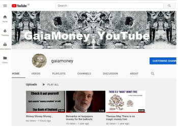 GaiaMoney YouTube