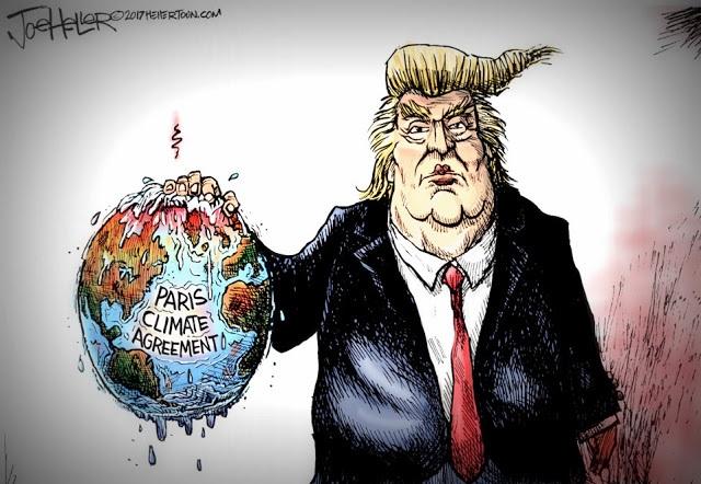Trump Paris Joe Heller